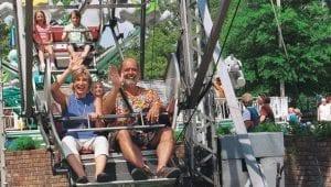 Ferris Wheel Family Friendly Ride at Lake Winnie