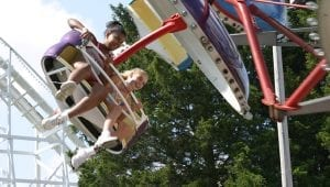 Paratrooper Family Friendly Ride at Lake Winnie