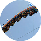 Fire Ball Thrill Ride at Lake Winnie