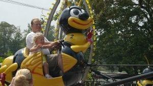 Bumble Bee Kids Ride at Lake Winnie