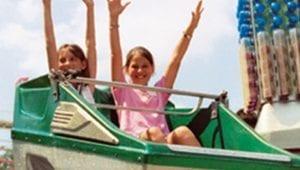Kids Having Fun at Lake Winnepesaukah