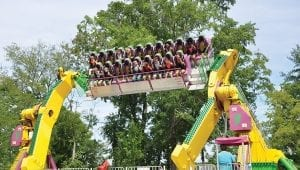 Twister Thrill Ride at Lake Winnie in Chattanooga