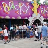 Wacky Factory Children's Attraction at Lake Winnie