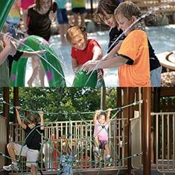 Kids Having Fun at Lake Winnie