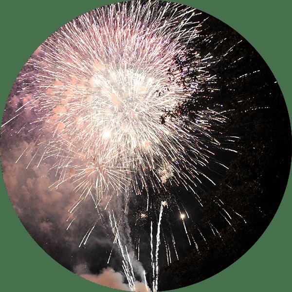 Chattanooga Fireworks Show at Lake Winnie
