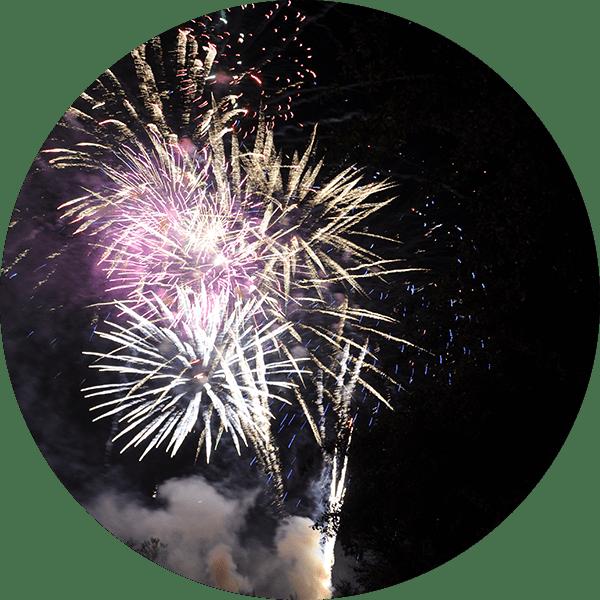 Family Friendly Fireworks Display