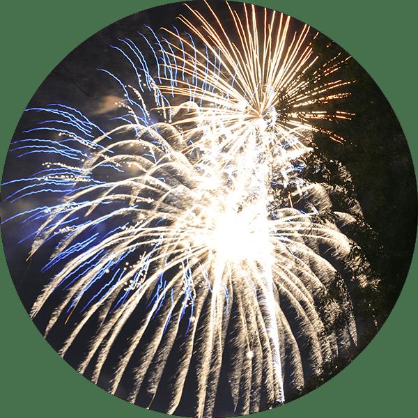 Huge Firework Display at Lake Winnie in Chattanooga
