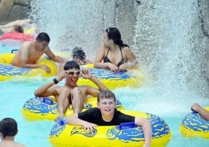 Lazy River Water Park in Chattanooga
