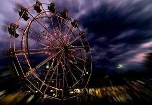Ferris Wheel at Lake Winnie