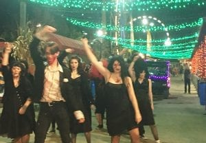 Workers Dancing at Haunted Amusement Park in Chattanooga